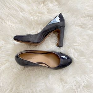 banana republic patent leather heels *brand new*